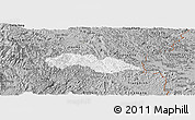 Gray Panoramic Map of Thach An