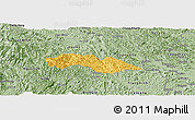 Savanna Style Panoramic Map of Thach An