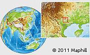 Physical Location Map of Tx.Cao Bang