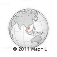 Outline Map of Hong Ngu