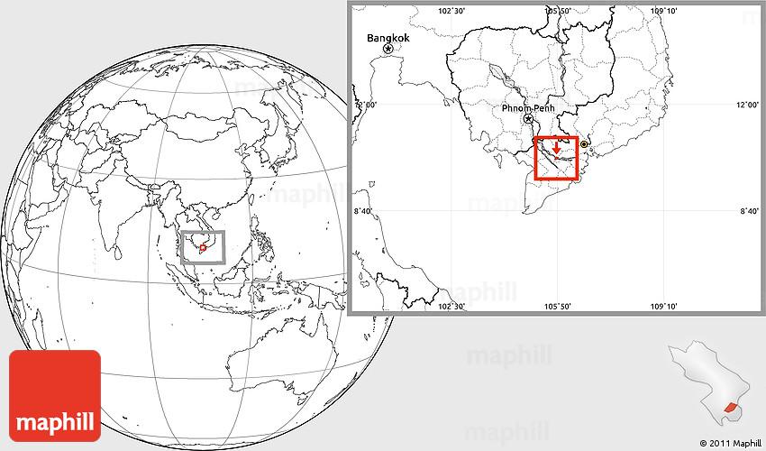 sa dec vietnam map Blank Location Map Of Sa Dec
