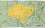 Savanna Style 3D Map of A Yun Pa
