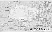 Silver Style 3D Map of A Yun Pa