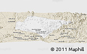 Classic Style Panoramic Map of A Yun Pa