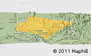 Savanna Style Panoramic Map of A Yun Pa