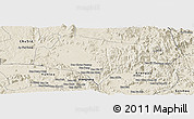 Shaded Relief Panoramic Map of A Yun Pa