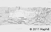 Silver Style Panoramic Map of A Yun Pa