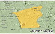 Savanna Style 3D Map of Chu Prong