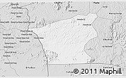 Silver Style 3D Map of Chu Prong