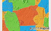 Political Map of Chu Prong
