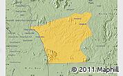Savanna Style Map of Chu Prong