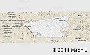 Classic Style Panoramic Map of Chu Prong