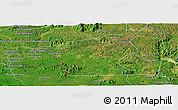 Satellite Panoramic Map of Chu Prong