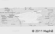 Silver Style Panoramic Map of Chu Prong