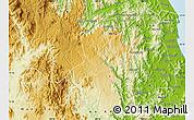 Physical Map of Kbang