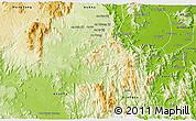 Physical 3D Map of Kon Chro