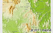 Physical Map of Kon Chro