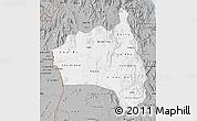 Gray Map of Gia Lai