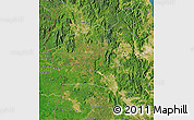 Satellite Map of Gia Lai
