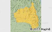 Savanna Style Map of Gia Lai