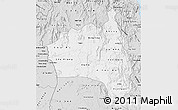 Silver Style Map of Gia Lai