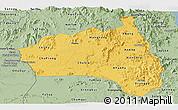 Savanna Style Panoramic Map of Gia Lai