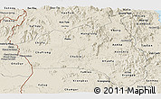 Shaded Relief Panoramic Map of Gia Lai