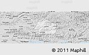 Silver Style Panoramic Map of Son Dong