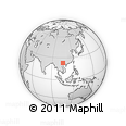 Outline Map of Meo Vac