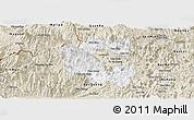 Classic Style Panoramic Map of Vi Xuyen
