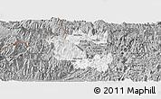 Gray Panoramic Map of Vi Xuyen