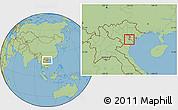 Savanna Style Location Map of Ung Hoa