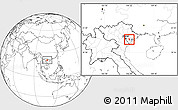 Blank Location Map of Nam Thanh
