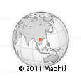 Outline Map of An Hai