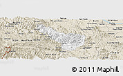Classic Style Panoramic Map of Da Bac