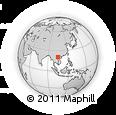 Outline Map of Mai Chau