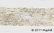 Classic Style Panoramic Map of Mai Chau