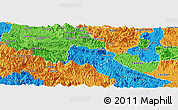 Political Panoramic Map of Mai Chau