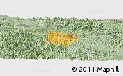 Savanna Style Panoramic Map of Mai Chau