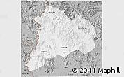 Gray 3D Map of Kon Tum