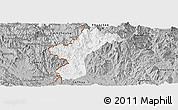 Gray Panoramic Map of Dac Glay