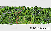 Satellite Panoramic Map of Dac Glay