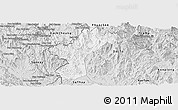 Silver Style Panoramic Map of Dac Glay