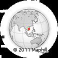 Outline Map of Kon Tum
