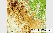 Physical Map of Konplong