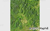 Satellite Map of Kon Tum