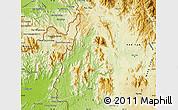 Physical Map of Sa Thay