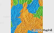 Political Map of Dien Bien