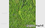 Satellite Map of Dien Bien