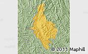 Savanna Style Map of Dien Bien
